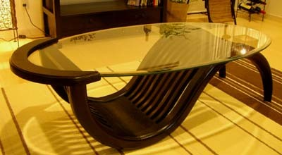 アジアン家具 バリ (チルダーテーブルSB(Lサイズ)) テーブル ローテーブル 座卓 ガラス 木製 チーク エスニック リゾート