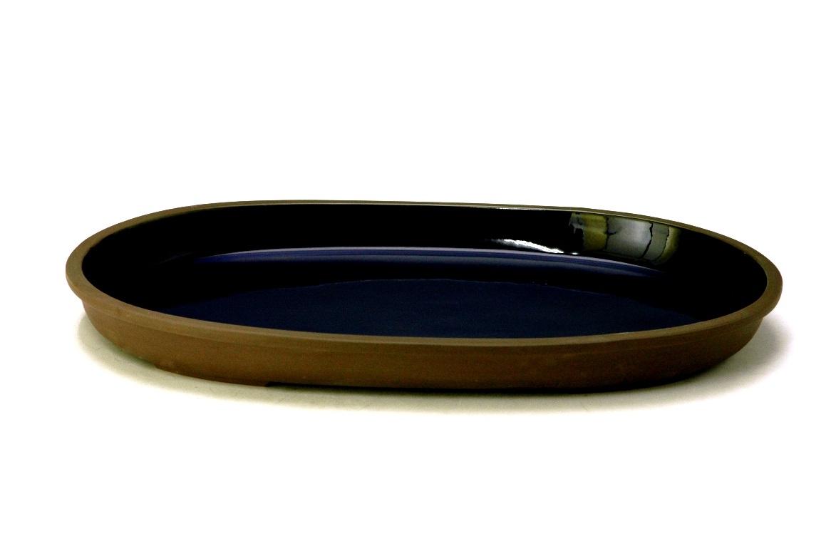 花器 おはら7-200 20号小判水盤 花瓶 フラワーベース 水盤