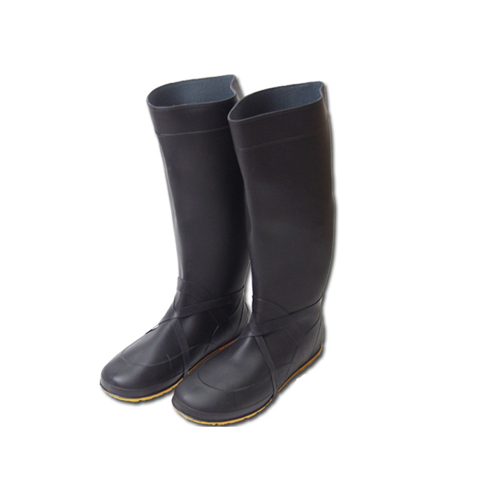 Fukuyama rubber planting rice plants and for agricultural work boots Nokeres now cars 22.5-28 cm in PVC material adopted long lasting compared to rubber products! With rubber band in the mud shoes take off hard! Gardening boots