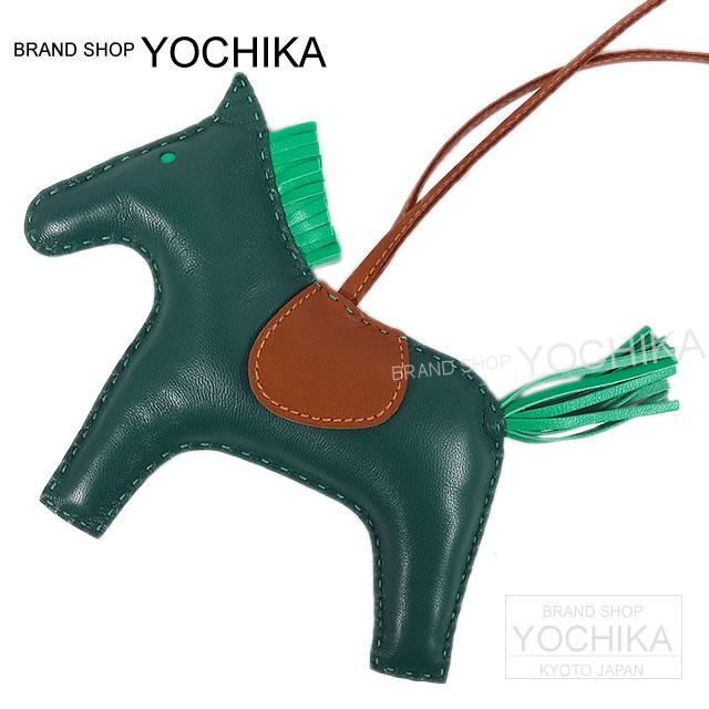 """愛馬仕愛馬仕包魅力""""牛仔 /RODEO""""通用孔雀石 X 薄荷 X forv 重新米洛 (RAM) 新品牌 (通用愛馬仕包魅力""""競技""""[全新]) #yochia"""