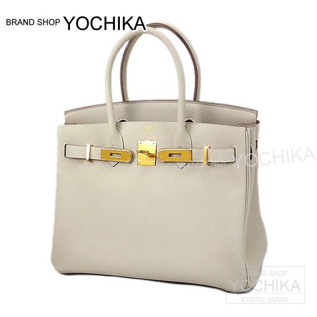 HERMES エルメス ハンドバッグ バーキン30 クレ トリヨン ゴールド金具 新品 (HERMES handbags Birkin30 Craie Taurillon Clemence GHW [Brand New][Authentic])#yochika