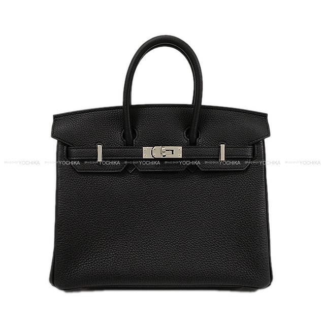 【ご褒美に★】HERMES エルメス ハンドバッグ バーキン25 黒(ブラック) トゴ シルバー金具 新品 (HERMES handbags Birkin 25 Black Togo Silver Hardware [Brand new][Authentic])【あす楽対応】#よちか