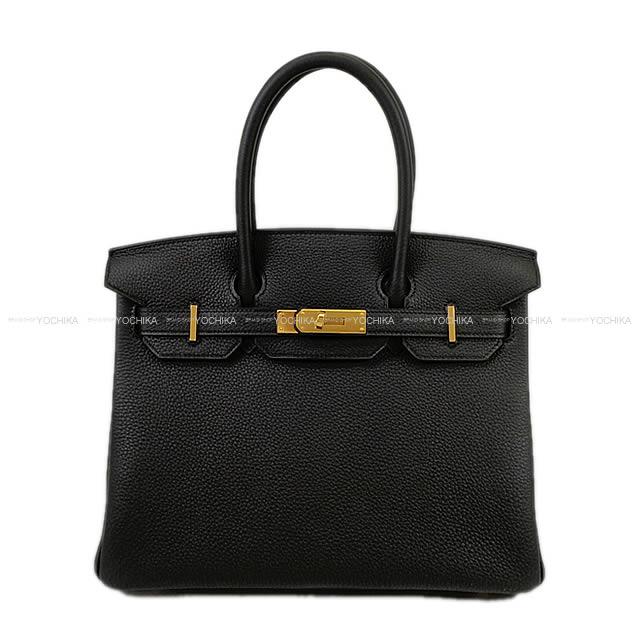 【冬のボーナスで!】HERMES エルメス ハンドバッグ バーキン30 黒(ブラック) トゴ ゴールド金具 新品未使用 (HERMES handbags Birkin 30 Bag Noir Togo Gold Hardware[NeverUsed][Authentic])【あす楽対応】#よちか