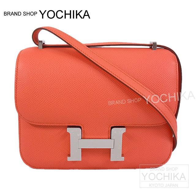 3 HERMES HERMES shoulder bag Constance mini-flamingo Epson new article (HERMES Shoulder bag Constance3 Mini Flamingo Epsom)fs04gm#yochika