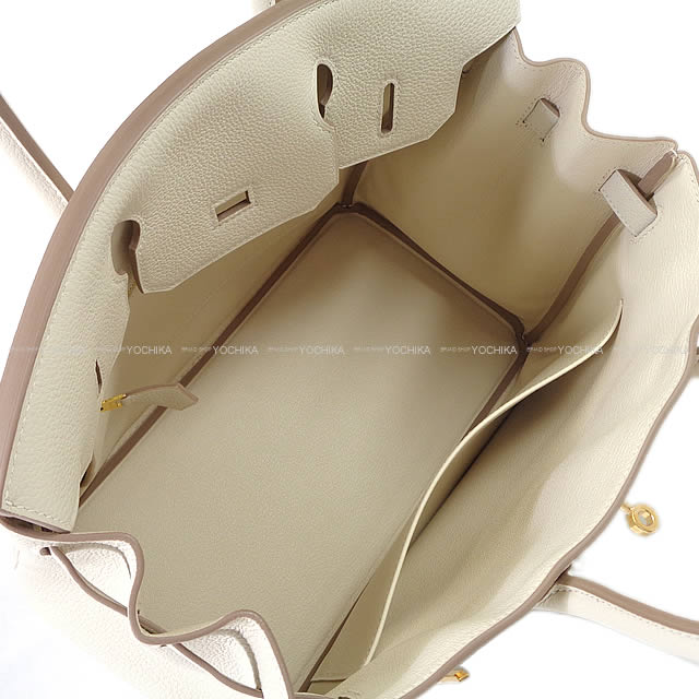 9cef541e34f3 HERMES Hermes handbag Birkin 30 CLE slope gold hardware brand new (HERMES  handbags Birkin30 Craie Togo GoldHardware  Brand New