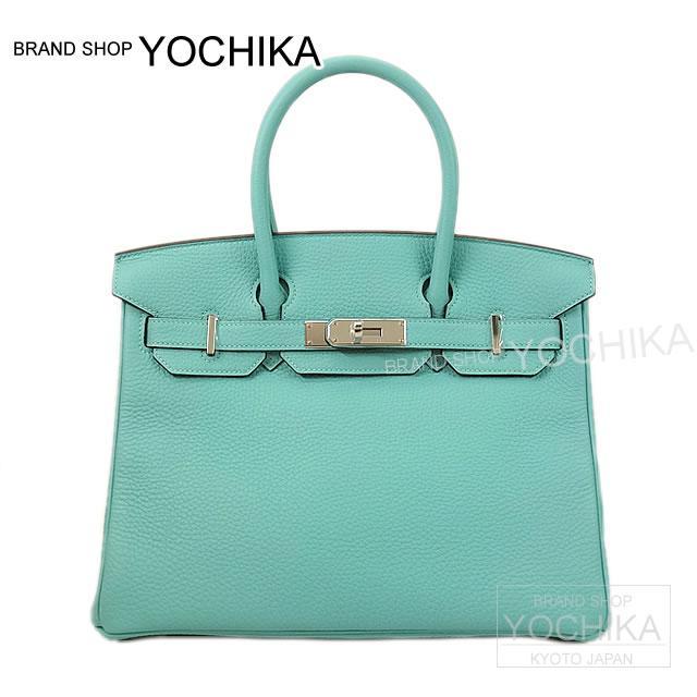 32e0bf8140db HERMES Hermes handbag Birkin 30 Blue ATOL slope silver metal brand new  HERMES Handbags Birkin30 Bleu Atoll Togo SHW  Brand New