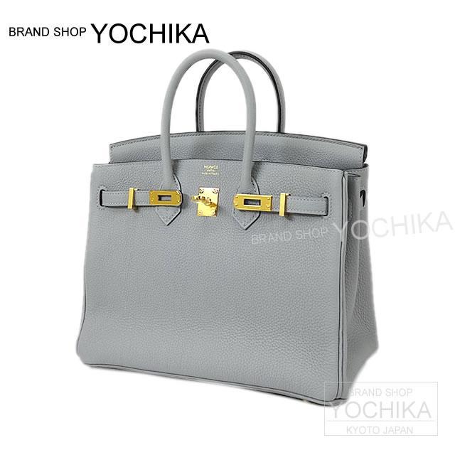 HERMES Hermes handbag Birkin 25 blue glacier there gold hardware brand new HERMES Handbags Birkin25 Bleu Glacier Togo GHW [Brand New], [Authentic], # I'm Chika