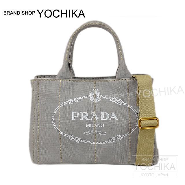 8c975446782e ヌーベグレー 1BG439 new article with PRADA Prada CANAPA カナパミニ 2WAY shoulder tote  bag strap-free (PRADA CANAPA mini Tote bag with Shoulder Strap ...