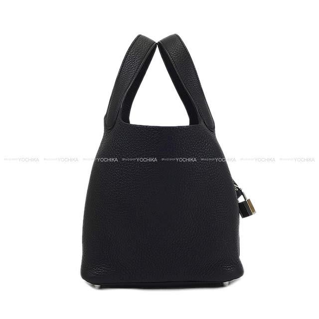 【ご褒美に★】HERMES エルメス ハンドバッグ ピコタンロック 18 PM 黒(ブラック) トリヨン シルバー金具 新品(Hermes handbags Picotin Lock 18 PM Black [Brand New][Authentic])【あす楽対応】#よちか