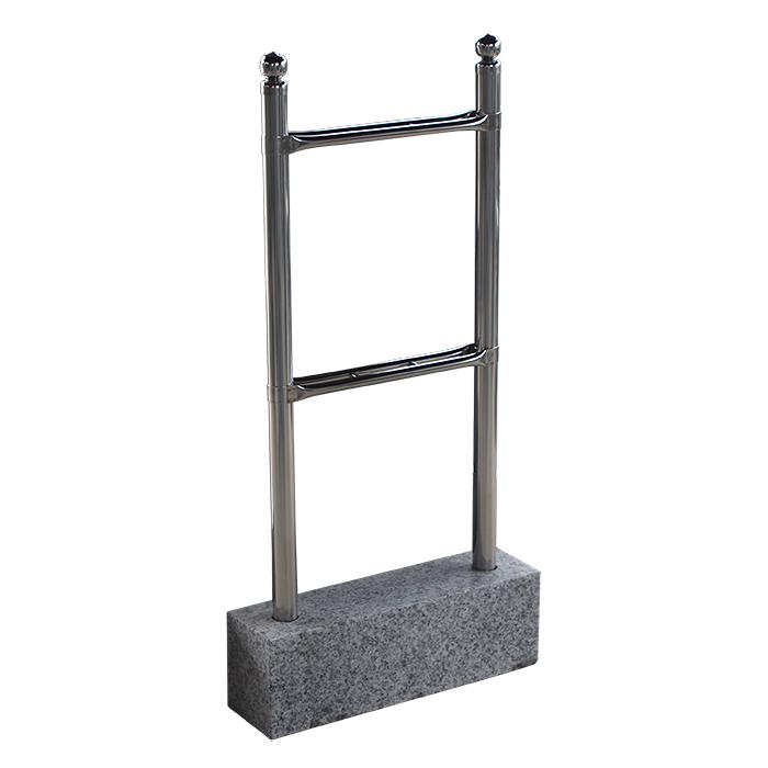 塔婆立て用台石(35ミリ2コマ用) 御影石 お墓参り お盆 お彼岸