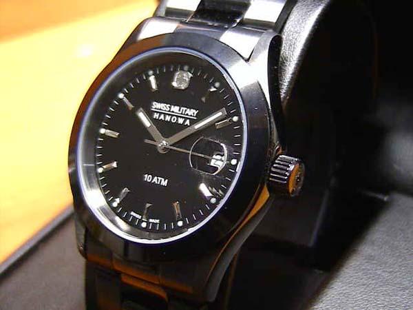 スイスミリタリー 腕時計 エレガント ML132 メンズ 35mm 【安心の正規輸入品】