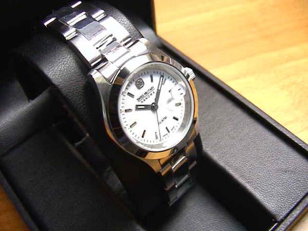 スイスミリタリー 腕時計 エレガントシリーズ 27mm レディースサイズ クォーツ ML102 正規代理店商品 【文字盤カラー ホワイト】