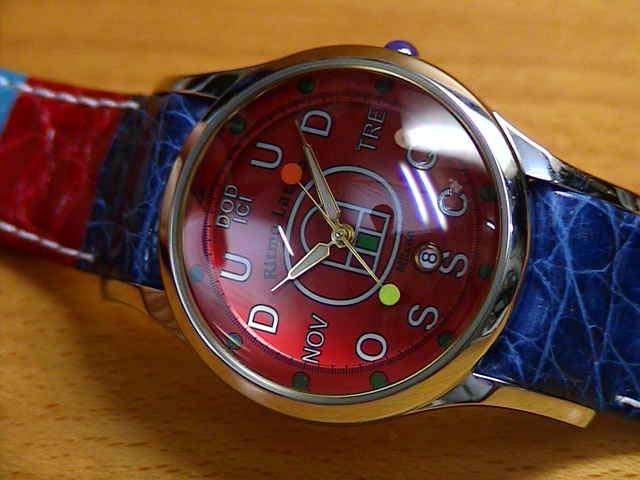 リトモラティーノ 腕時計 腕時計 FINO (フィーノ) マルチカラー ベルト  メンズサイズです。 レディースもあります 【文字盤カラー レッド】 ★日本全国=北は北海道、南は沖縄まで送料0円 【送料無料】でお届けけします★