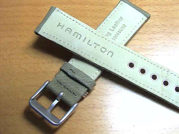 how to replace hamilton watch band
