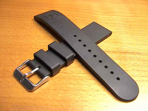 V25145 rubber watch band watch Belt Black Black for 22 mm shipping cost available for 180 yen. For wrist watch watch belt watch band