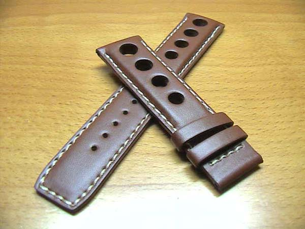 Tissot PRS516 for genuine watch leather watch band watch belt Brown 20 mm for wrist watch watch belt watch band