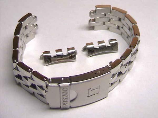 TISSOT☆ティソ☆PRS200クロノダイバー T0674171103100,T0674171105100,T0674171104100 専用 純正 ステンレススチール ブレスレット 時計バンド 時計ベルト 19mm