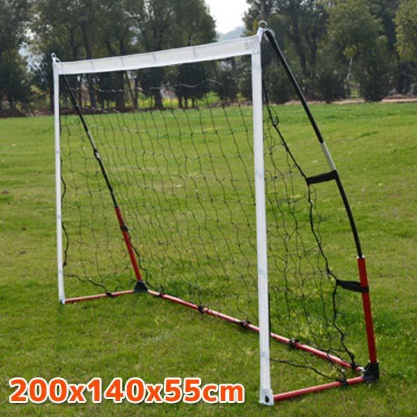 組み立て式サッカーゴール サイズ:200x140x55cm 爆買いセール 絶品 ポータブル ゴール サッカー フレームワーク