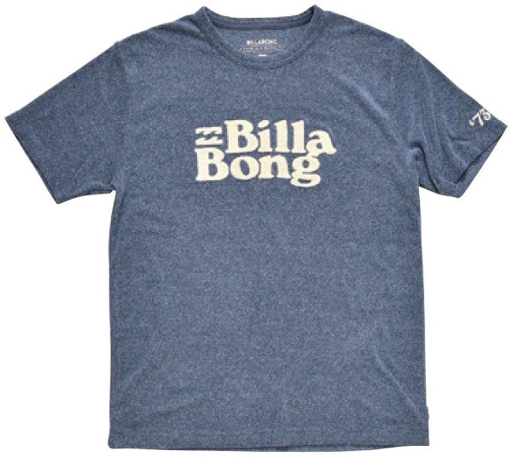 ビラボン billabong BILLABONG メンズ ネップパイル さがらロゴTシャツ AJ011304 NVY カジュアル Tシャツ