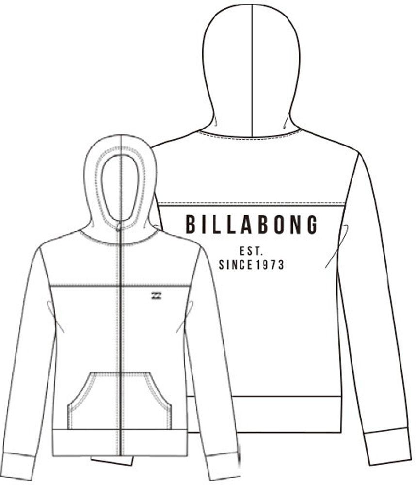 ビラボン billabong BILLABONG レディース 【ACTIVE】 フルジップラッシュパーカ AJ013864 WHT マリンSP ミズギ