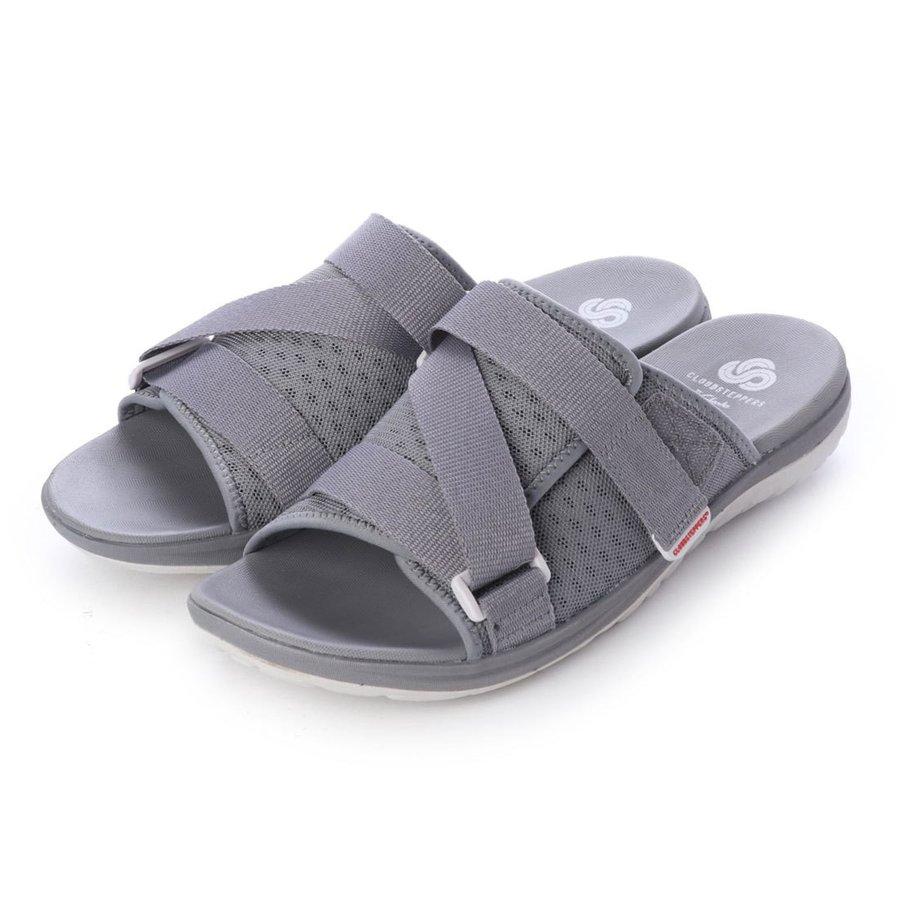 クラークス Clarks Step Beat Surf 26141467 Grey Textile Mens クラークスビジネスシューズ