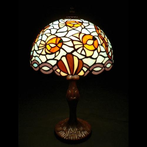 ステンドグラス ランプ ライト ティファニー アンティーク シーパラダイス 熱帯魚柄 卓上ライト 照明器具 おしゃれ