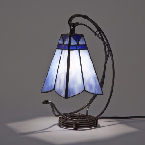 ステンドグラスランプ テーブルランプ 吊り型 アンティーク ステンドランプ ステンドガラス 卓上照明 間接照明 セレステ