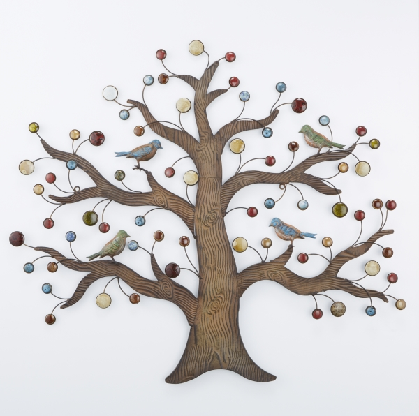 アイアン ウォールデコレーション ツリー 木 壁掛け飾 インテリア ディスプレイ オブジェ