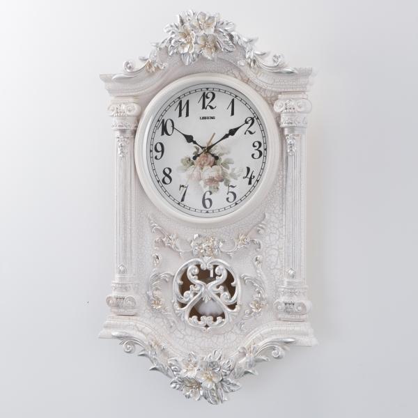 掛時計 音がしない おしゃれ 連続秒針 掛け時計 ウォールクロック ホワイト 壁掛け時計 インテリア