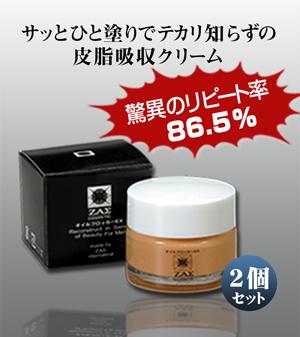テカリ防止クリーム・皮脂吸収「オイルブロッカーEX 2個組」メンズコスメ・男性用化粧品