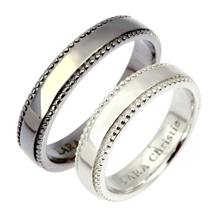 LARA Christie (ララクリスティー)ギャラクシー ペアリング [ PAIR Label ] シルバー ペアリング 指輪 ペア