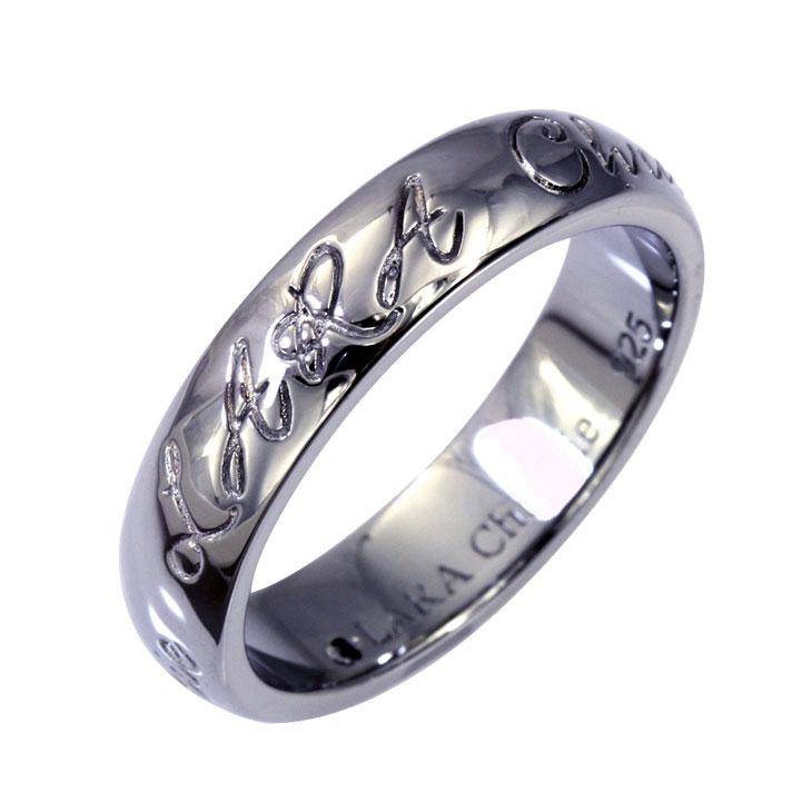 リング 指輪 メンズ LARA Christie (ララクリスティー) ロマンス リング[ BLACK Label ] シルバー リング メンズ クリスマス プレゼント