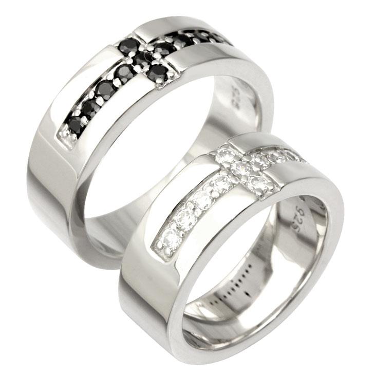 LARA Christie (ララクリスティー)ロイヤル クロス ペアリング [ PAIR Label ] シルバー ペアリング 指輪 ペア 結婚記念日 クリスマス プレゼント