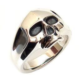 PUERTA DEL SOL(プエルタデルソル)【R607】シルバー スカル リング[指輪][11号~23号]【ギフト包装-対応】