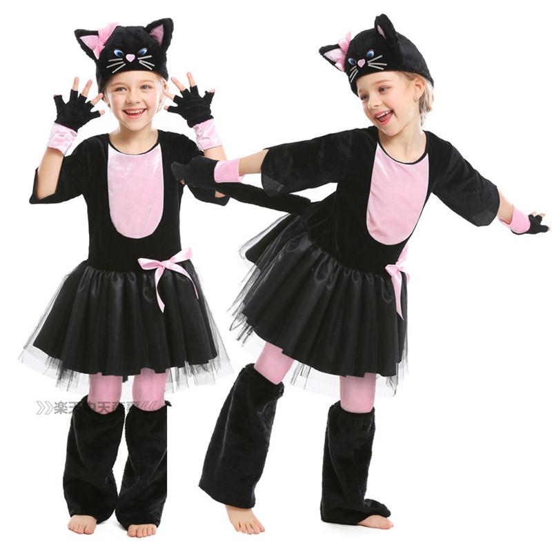 【chuutenn】ハロウィン コスプレ 黒猫 ネコ 猫 猫耳 手袋 ねこ 猫の手 モテる 舞台劇 子供用 おもしろ コスチューム かわいい 文化祭 忘年会 舞台衣装 演出服 cosplay コスプレ衣装 仮装