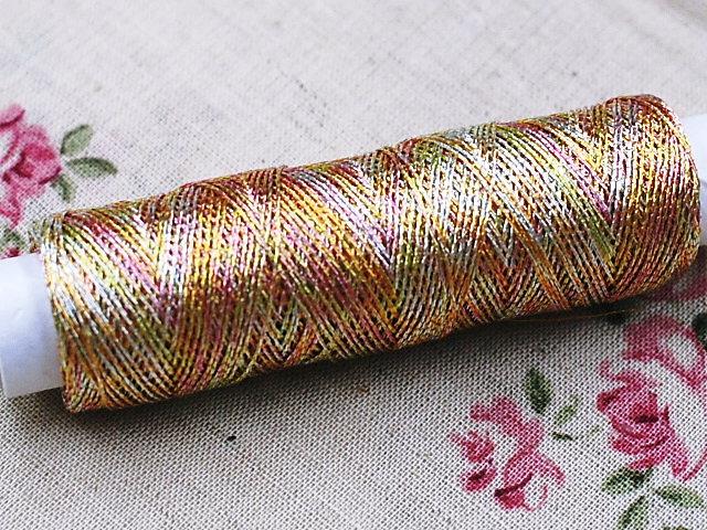 手縫い糸 日本全国 送料無料 刺繍糸 大人気 ラテン 段染め色