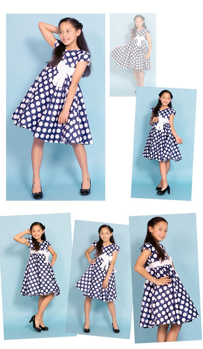 Dress shop GOLDBUNNY | Rakuten Global Market: The mini dot dress red ...