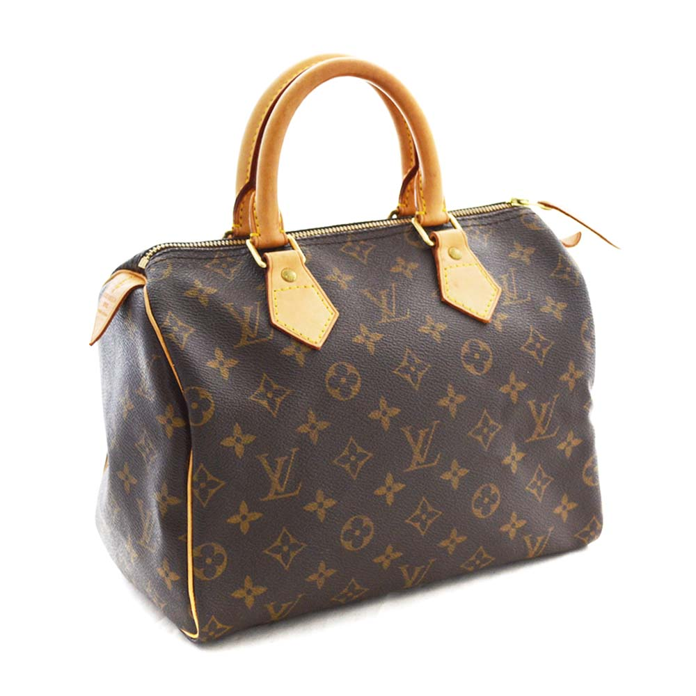 bafd68042b91 LOUIS VUITTON Louis Vuitton monogram speedy 25 mini-Boston bag handbag  Lady s brown monogram canvas M41528