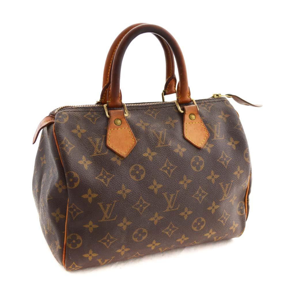 df721f4149c5 LOUIS VUITTON Louis Vuitton monogram speedy 25 mini-Boston handbag Lady s  brown monogram canvas M41528