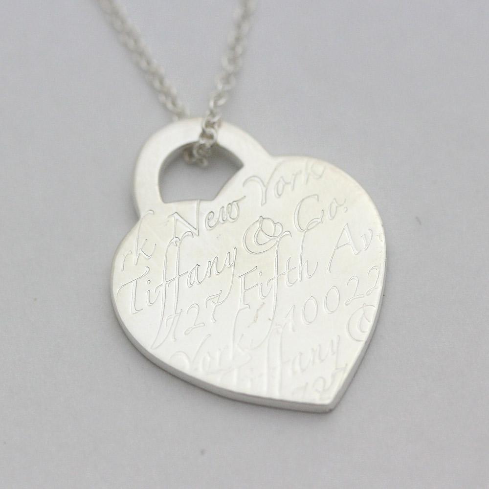 021a3ba6d Gold Eco: TIFFANY&Co. Tiffany return toe heart necklace Lady's ...