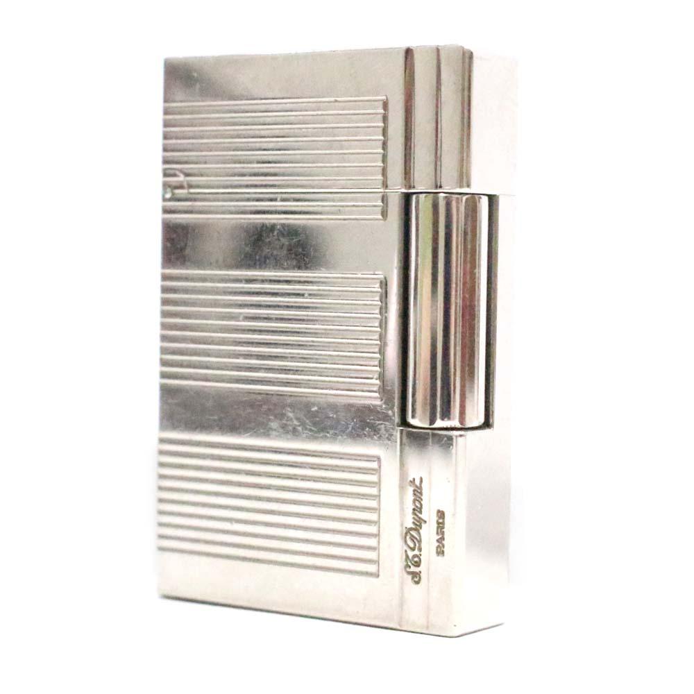 【中古】Dupont シルバー デュポン ギャッツビー メタル ガスライター ライター ユニセックス ライター シルバー メタル, 赤城村:339d3b89 --- officewill.xsrv.jp