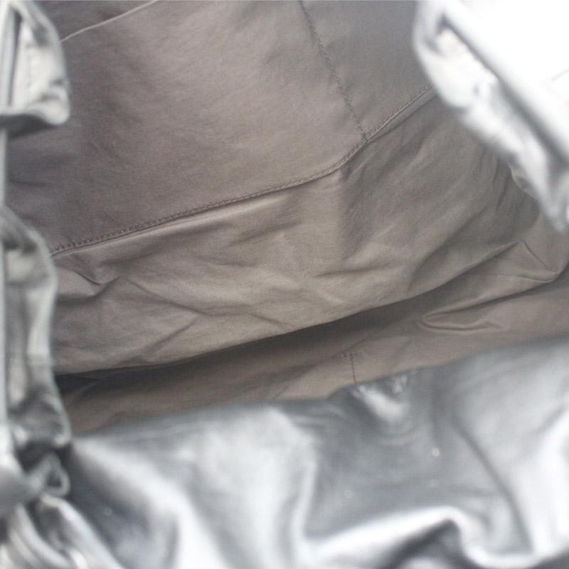 BOTTEGAVENETA ボッテガヴェネタ イントレチャート リュック・デイパックユニセックス ブラック レザー 361014vONPyn0m8w