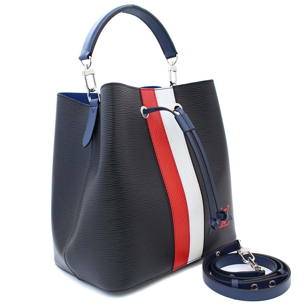 69b29c46f9 LOUIS VUITTON Louis Vuitton neo-Noe 2WAY ショルダーバッグエピハンドバッグレディースブラックレッドホワイト  ...