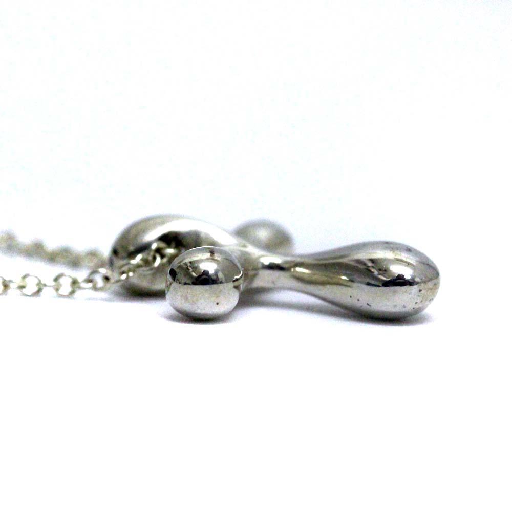 86f16eb9a Tiffany Small cross necklace Lady's silver silver 925 accessories ·  TIFFANY&Co.