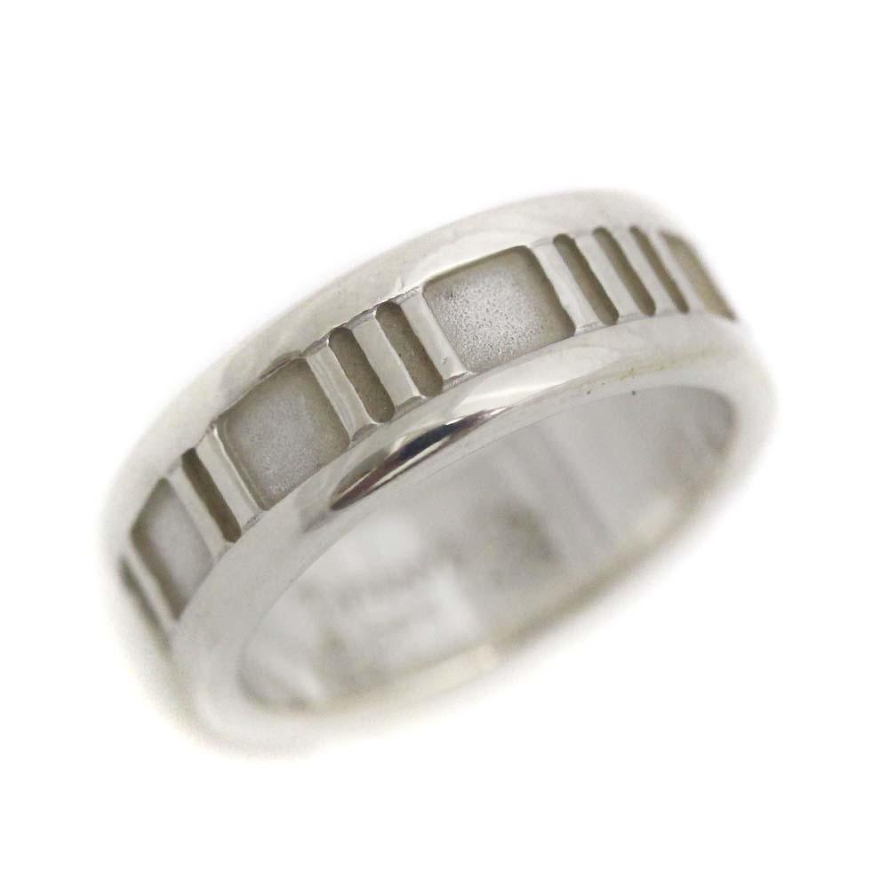 【中古】TIFFANY&Co. ティファニー ローマ アトラス  リング・指輪 レディース 8号 SV シルバー925 アクセサリー