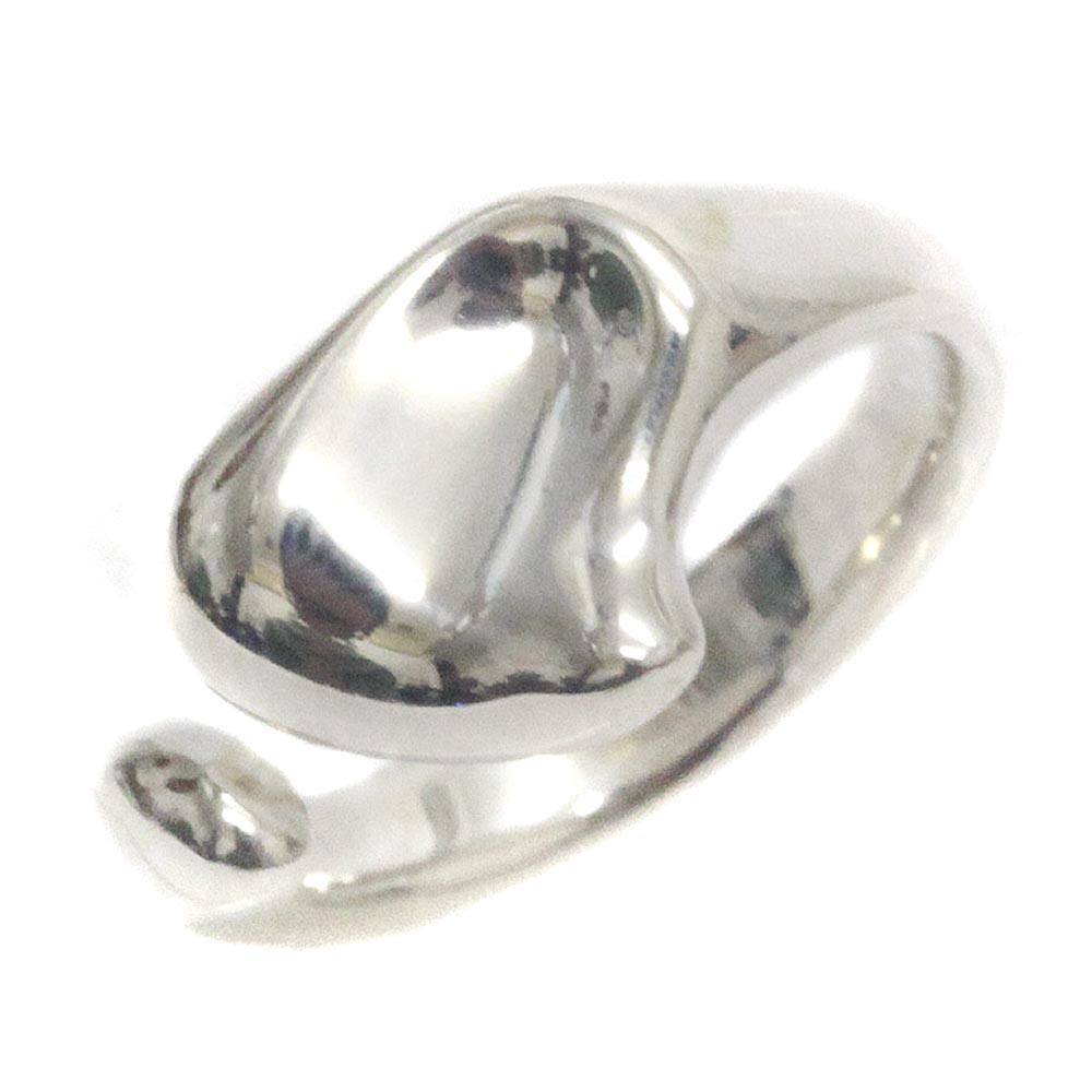 【中古】TIFFANY&Co. ティファニー エルサ・ペレッティ フルハート リング・指輪 レディース 10号 SV シルバー925 アクセサリー【新品仕上げ済み】