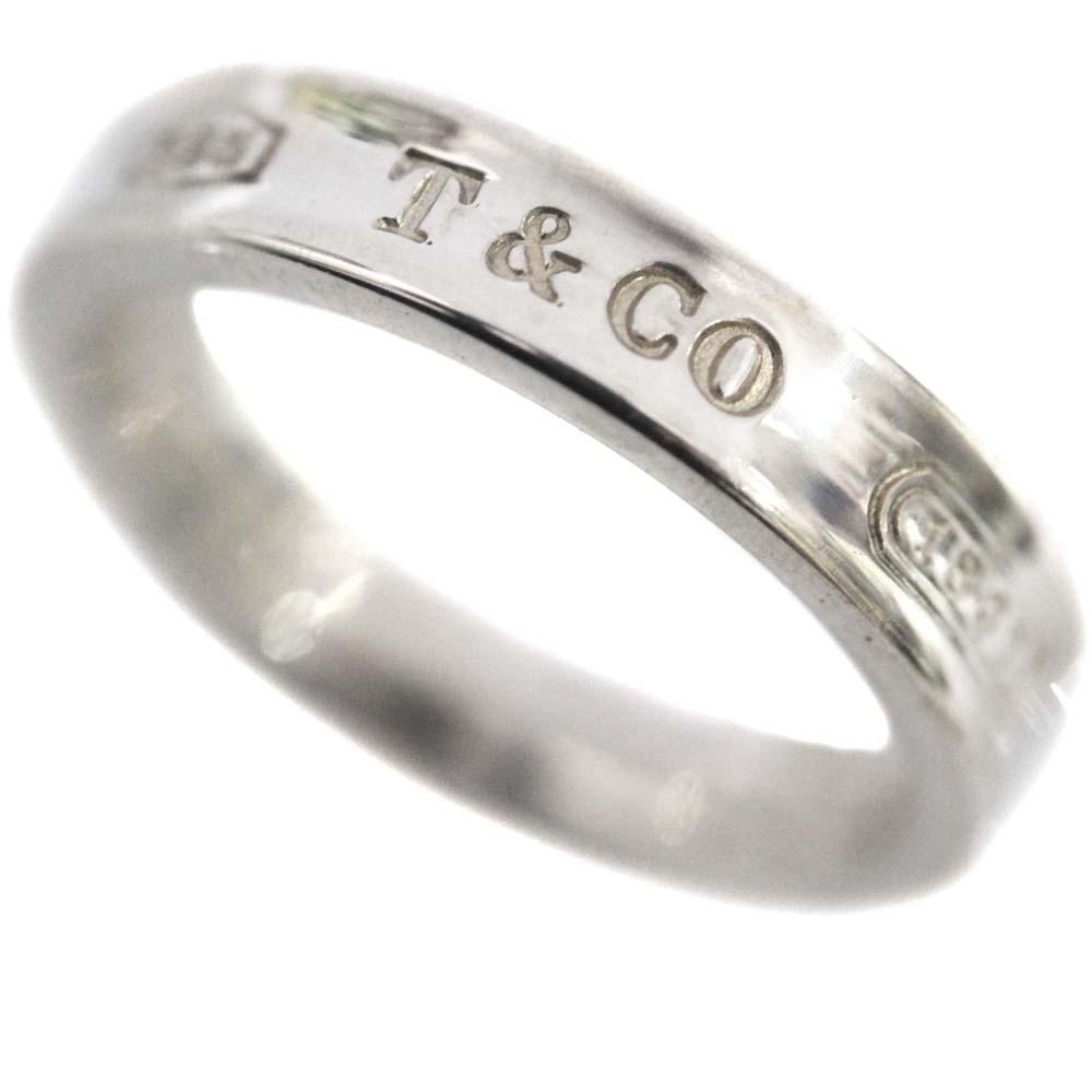 【中古】TIFFANY&Co. ティファニー 1837 リング・指輪 レディース 6.5号 シルバー シルバー925【新品仕上げ済み】