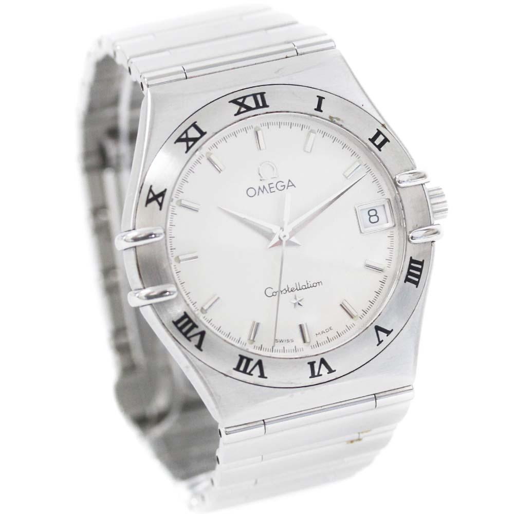 【中古】OMEGA オメガ コンステレーション 腕時計 メンズ クオーツ シルバー文字盤 シルバー 1512.30