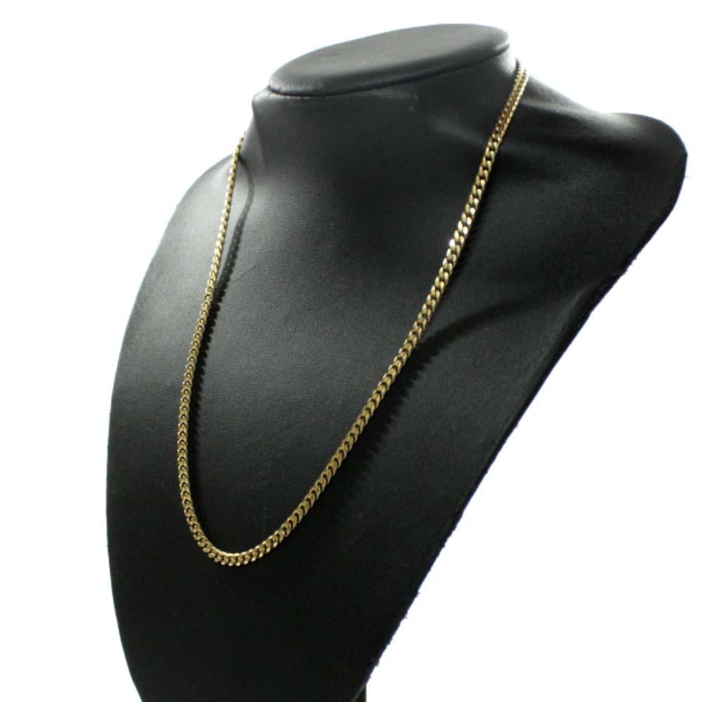 no brand ノーブランド 喜平 8面 シングル ネックレスユニセックス ゴールド K18イエローゴールド ジュエリーHED2Ib9YeW