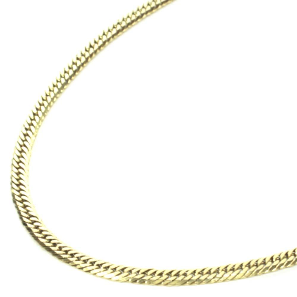 no brand ノーブランド 喜平6面 ダブル 全長約50cm 約20 3g ネックレスユニセックス ゴールド K18イエローゴールド ジュエリーdsxrCthQ